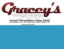 -Taos Turquoise- Gracey's Vintage Finishes Nitrocellulose Guitar Lacquer.