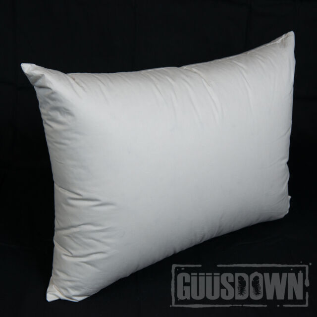 50% Polish Goose Down Pillow - Standard Size - Extra Fill - Made in Australia