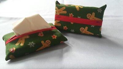 Limited edition Handmade ltems. Handbag tissue tidy with tissues