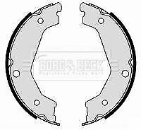 # BORG BBS6380 BRAKE SHOE SET Rear