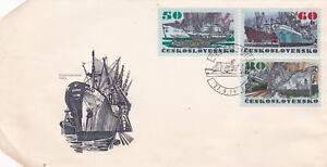K65-enveloppe-CESKOSLOVENSKO-TCHECOLOVAQUIE-bateau-BRNO-1972