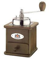 Zassenhaus Brasilia Coffee Mill Burr Grinder, Dark Stained Beech Made In Germany