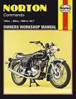 Norton Commando Owner's Workshop Manual by Jeff Clew (Paperback, 1988)