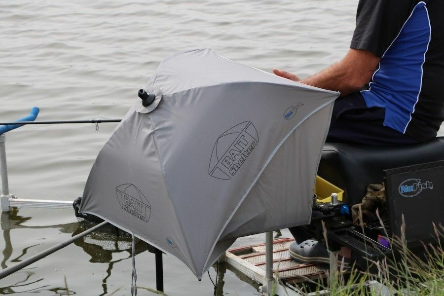 NUFISH BAIT SHELTER BROLLY FOR MATCH FISHING SEAT BOXES