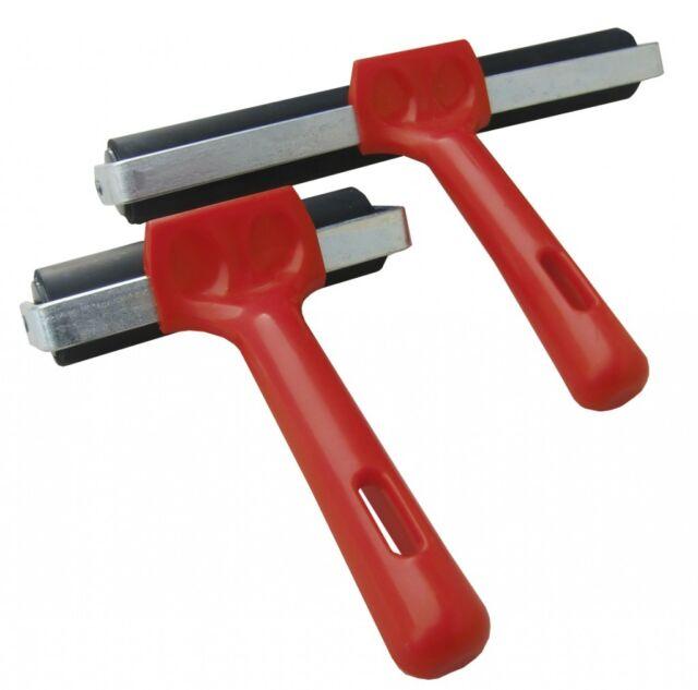 Block Printing Lino Roller - Hard Rubber Brayer  Choose 50 65 75 100 150 200 mm