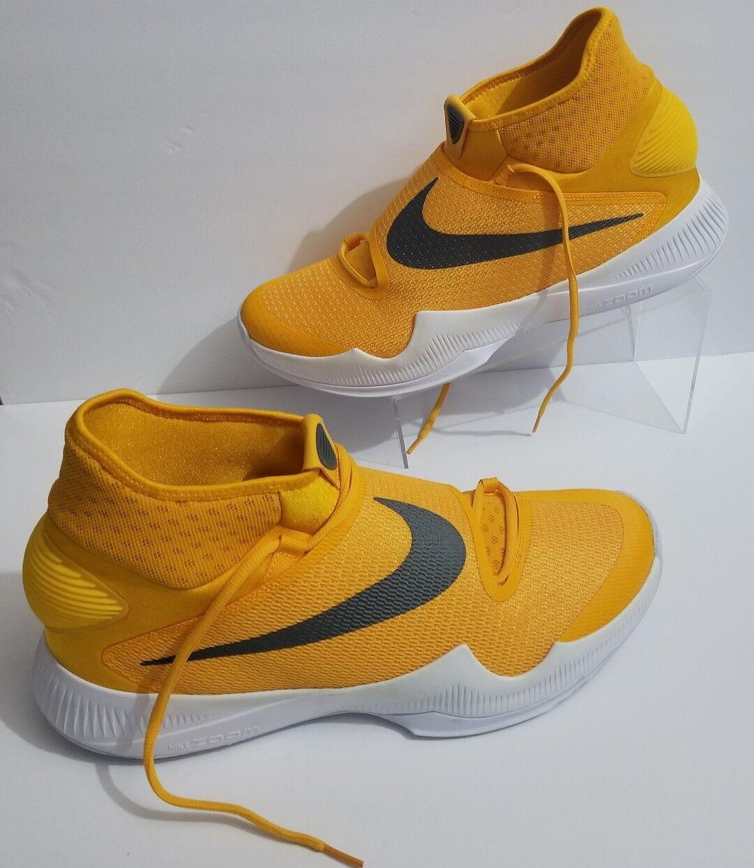 NEW Nike Zoom Hyperrev 2016 University Gold/Gray/White Shoes 835439 702 SZ 15.5