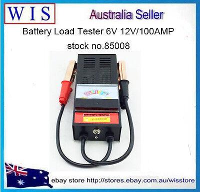 Battery Load Tester  6V 12V Volt  Automotive Car Truck Boat Bike 100 Amp-85008