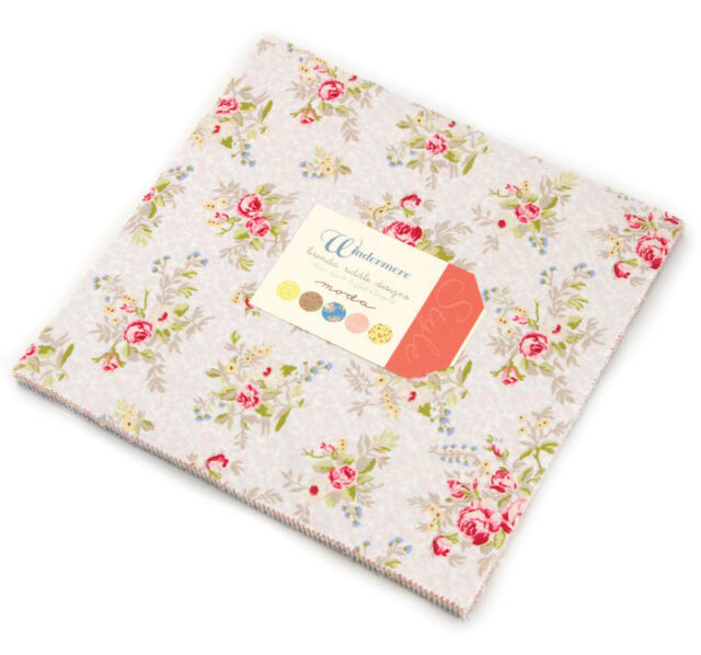 "Moda FABRIC Charm Pack ~ BUMBLE BERRIES ~ Lauren /& Jessie Jung 42-5/"" squares"