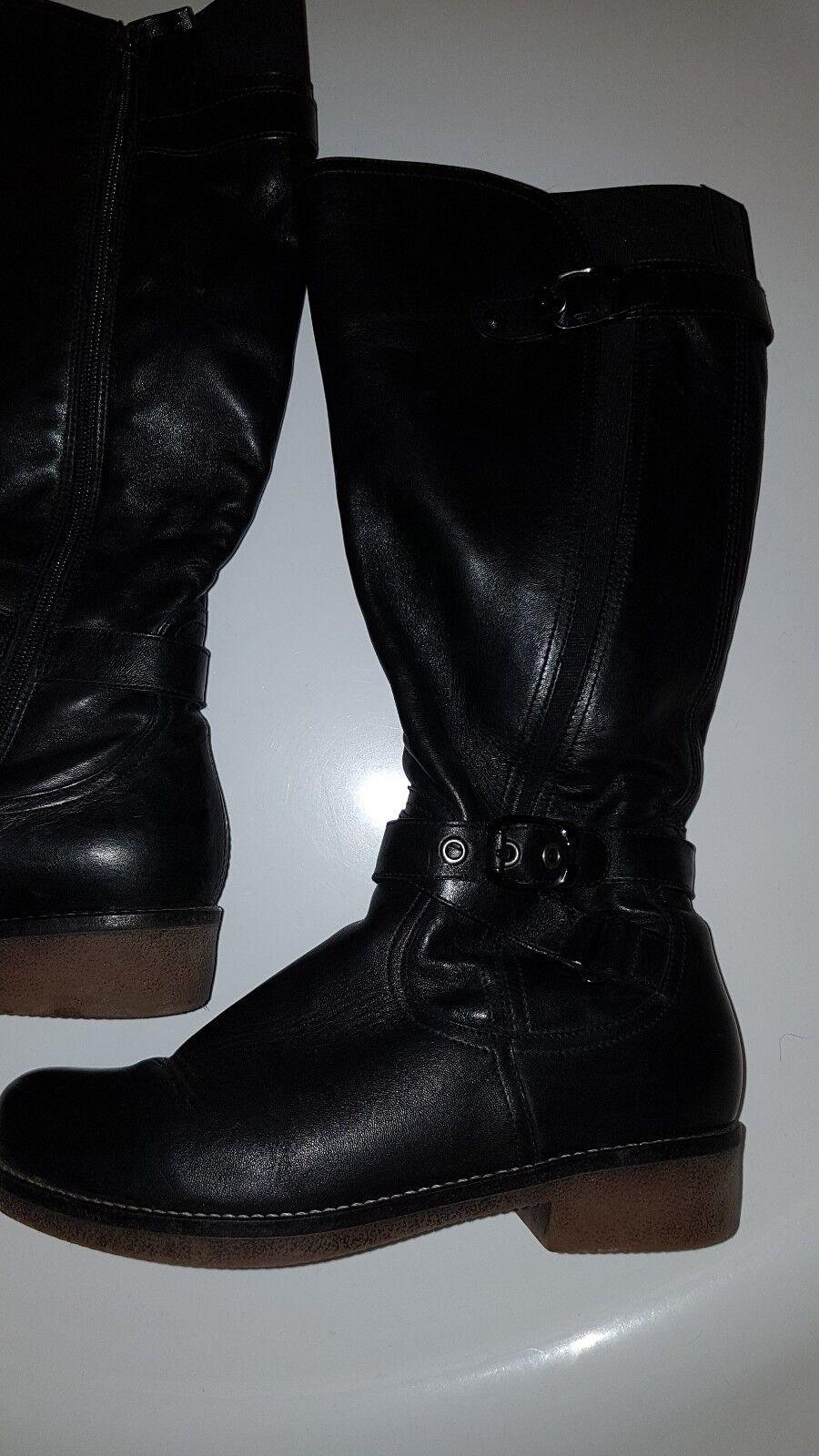 Eleganter  Stiefel von ARA, schwarz, Grösse 4 1 2  (37 1 3), Neu    Erste Qualität    Ruf zuerst    Schön