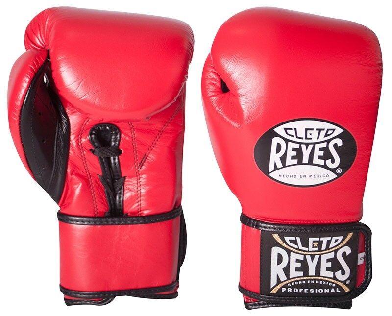 Cleto Reyes Geschnürt Klett Rot Hybrid Training Boxhandschuhe - Rot Klett 0f2ed9