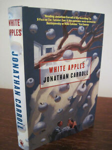 1st-Edition-WHITE-APPLES-Jonathan-Carroll-FIRST-PRINTING-Fiction-FANTASY-Novel