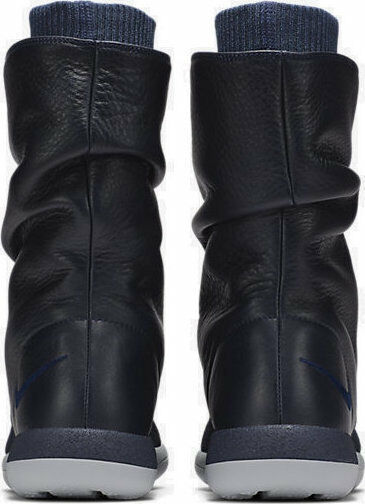 Nike Roshe Two Flyknit Hi Hi Hi 861708-400 Collage Navy Wmn Sz 6 Boots 1917e0