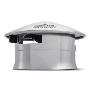 Stable Smokeware Ss Ventilé Cheminée Cap Pour Big Green Egg (med, L & Xl)-afficher Le Titre D'origine