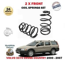 FOR VOLVO XC70 CROSS COUNTRY 2.4 2.5 T D5 AWD 2000-> 2 x FRONT COIL SPRINGS SET