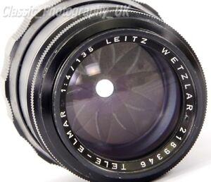 Tele-Elmar-1-4-135mm-LEICA-M-Telephoto-Lens-by-Ernst-LEITZ-Wetzlar-Made-in-1966