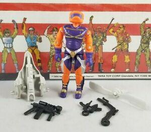Original-1989-GI-JOE-ANNIHILATOR-V1-ARAH-Complete-UNBROKEN-figure-Cobra-Army