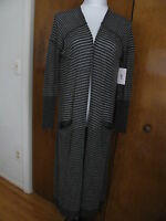 W/tags Free People Women's Deep Gray Long Cardigan Size Xsmall