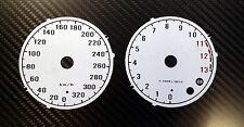 Kawasaki  ZZR1400 ZZR 1400 GTR Tachoscheiben Tacho Dial gauge weiß tuning zx14r