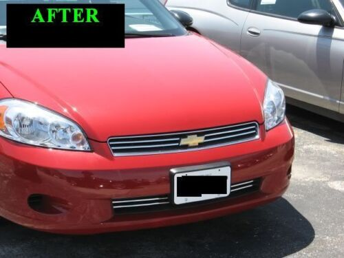 2006-2007 CHEVY CHEVROLET MONTE CARLO CHROME TRIM FOR GRILL GRILLE W//5YR WRNTY