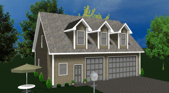 Garage Kit Shell Prefab Garage Kit with Living Quarters Garage Home kit
