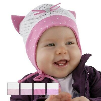 BRAND NEW LIGHT AIRY COLOURFUL TIED SUMMER HAT//CAP//BONNET FOR GIRL//BABY//TODDLER