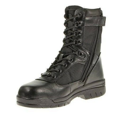 BATES TACTICAL BOOTS 8  Insulated Steel Toe Security Police Zipper EMT 14-15