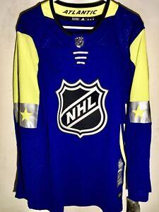 online store 5125d 68d99 Details about adidas Authentic ADIZERO NHL Jersey All-Star East Team Blue  sz 54