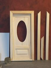 Dollhouse Miniature Front Door Entry 1:12 one inch scale  J32 Dollys Gallery