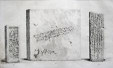 Babylonien zeppa carattere Briques cunéiforme cuneiform script Babylonia Babylone