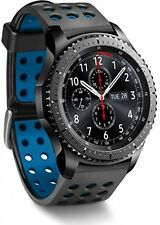 Greatfine Silicone 22MM Watch Strap for Samsung Gear S3 Frontier / Classic / 2