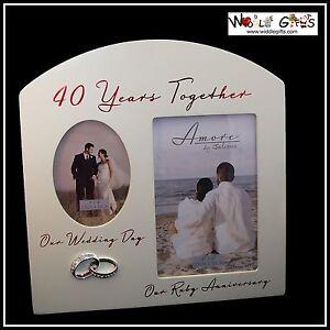 40th-Anniversario-40-Years-Together-Ruby-Cornice-portafoto