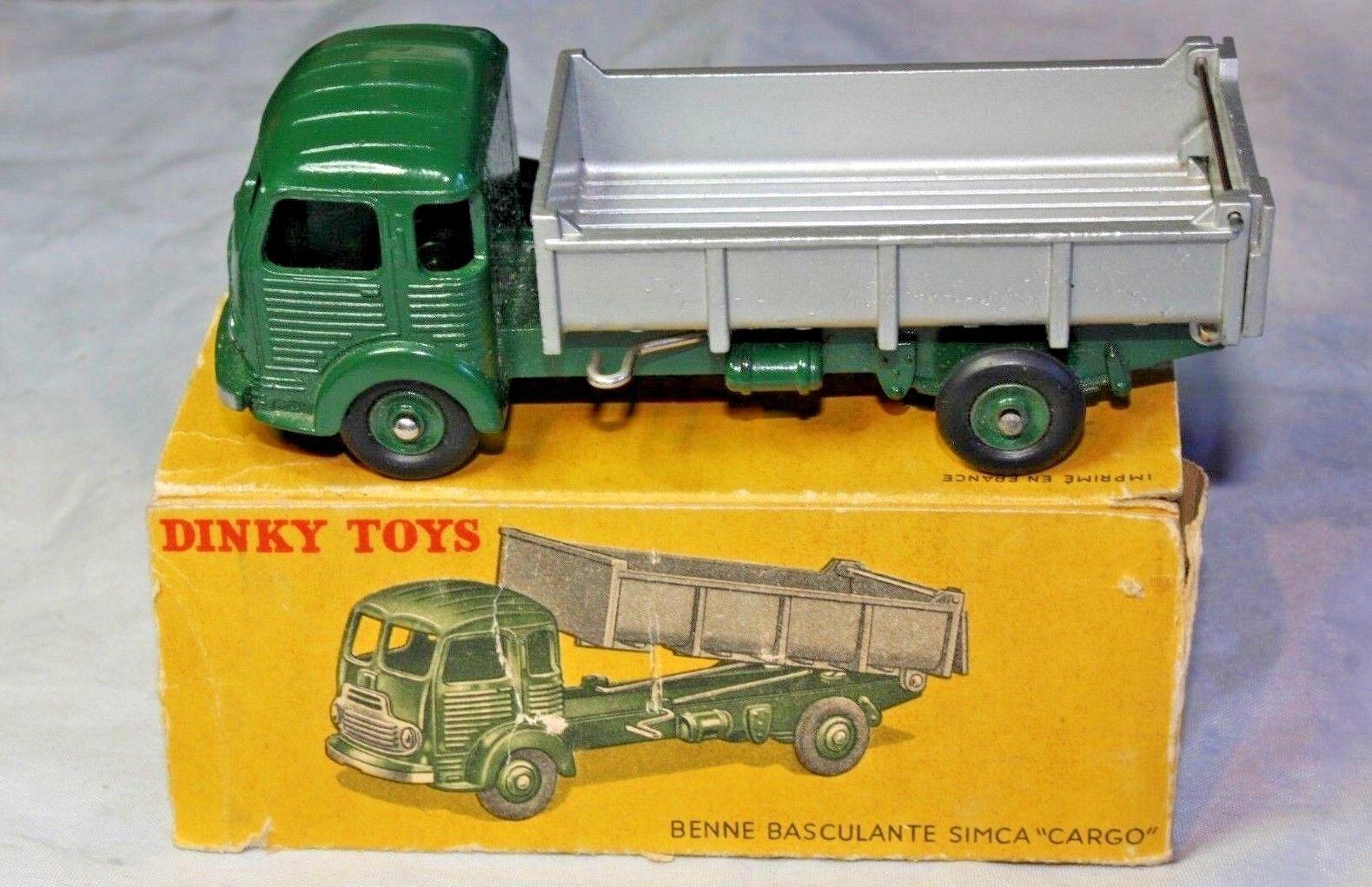 Dinky France 578 Benne Basculante Simca  Cargo  VNM in Original Box