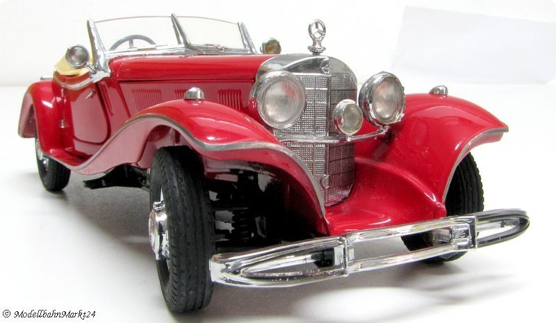 Franklin MINT MERCEDES 500 K roadster