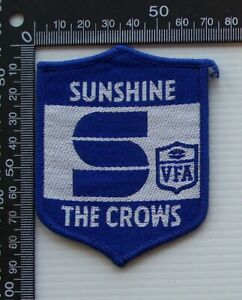 RARE VINTAGE VFA SUNSHINE CROWS EMBROIDERED WOVEN CLOTH PATCH VFL SEW-ON BADGE