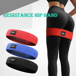 Resistance-Hip-Circle-Bands-Fitness-Exercise-Glute-Bands-For-Booty-Thighs-Leg-US