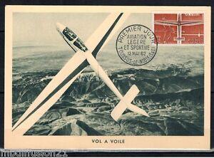 FDC-CP-1-JOUR-AVIATION-VOL-A-VOILE-TOUSSUS-OBL-12-05-1962-TIMBRE-Yt-1340