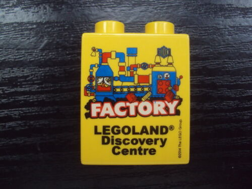 LEGOLAND DISCOVERY CENTRE LEGO PROMO BRICK 4 X 2 DUPLO  NEW UNUSED FREE UK POST