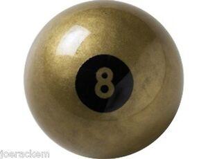 NEW-Aramith-2-25-034-GOLDEN-8-BALL-2-1-4-INCH-FREE-SHIPPING
