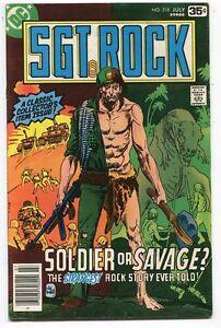 Sgt-Rock-318-FN-VF-DC-Comics-CBX34