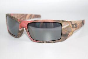 8e52af99571 Oakley Gascan Sunglasses 03-483 Woodland Camo Frame W  Black Iridium ...