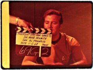 Star-Trek-TOS-35mm-Film-Clip-Slide-Lights-of-Zetar-Clapper-Board-Kirk-3-18-21