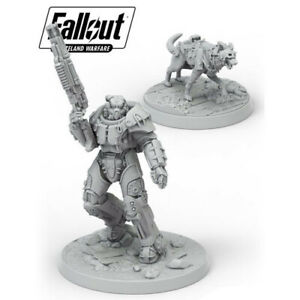 Fallout-Wasteland-Warfare-BNIB-X-01-Survivor-amp-Dogmeat-MUH051733