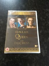 The Iron Lady / The Queen / The Duchess - New & Sealed