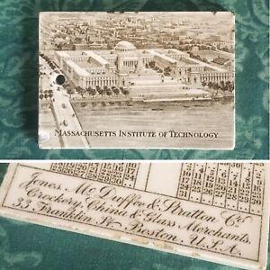Antique 1916 Wedgwood Massachusetts Institute Of Technology Mit