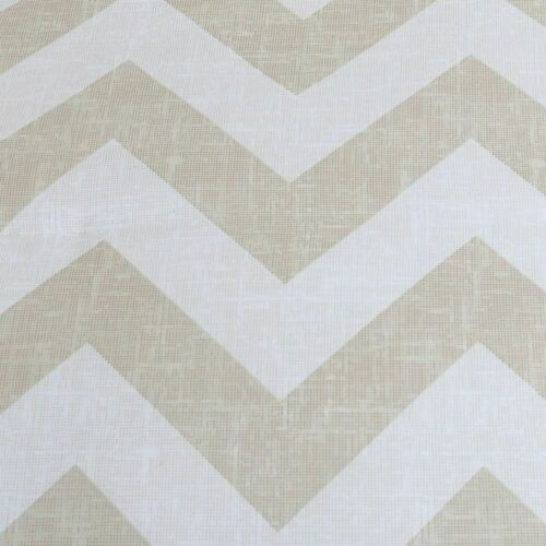 Queen King Bed Taupe Beige White Pintuck Pleat Chevron 7pc Comforter Set Bedding