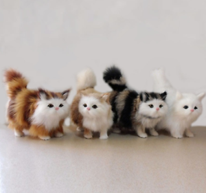 Lovely-Stuffed-Plush-Toy-Simulation-Cat-Cute-Doll-Kid-039-s-Gifts-For-Christmas-New