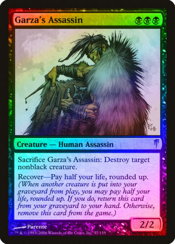 Garza/'s Assassin FOIL Coldsnap NM-M Black Rare MAGIC THE GATHERING CARD ABUGames