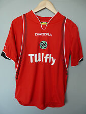 Vintage Hannover 96 Diadora 2007 Home Football Shirt Trikot Jersey Sz Small