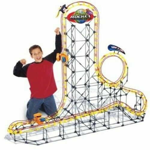 K Nex 63166 Rippin Rocket Roller Coaster Parts Track Sections For Sale Online Ebay