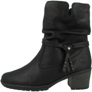 Rieker microscamo Women Shoes Ankle Boots Ladies Ankle Boots Anti Stress 96884 | eBay